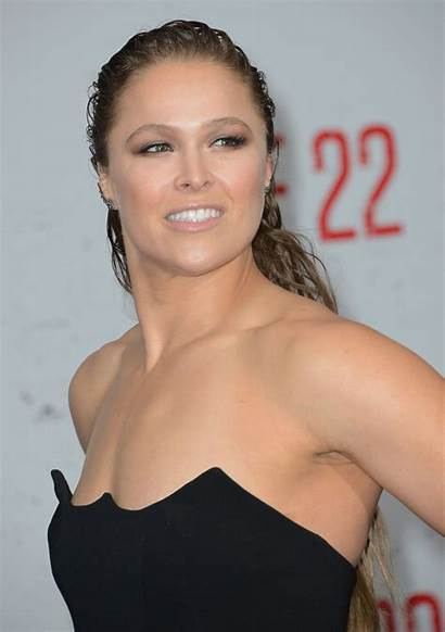 Rousey Ronda Films Mile Premiere Actress Becky