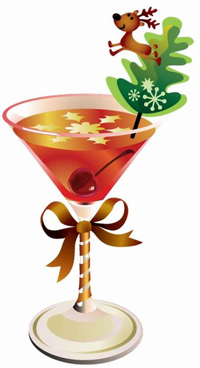 Clipart Christmas Drinks Martini Cocktail Clip Drink