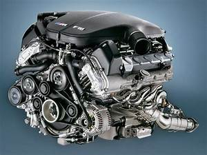 2005 Bmw M5 - Engine - Front Angle