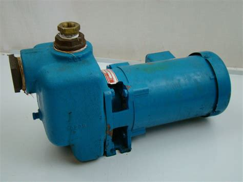 Burks 3/4hp 208-230/460v Centrifugal Pump T37wt5