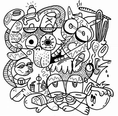 Stoner Coloring Pages Drawing Stoners Printable Adults