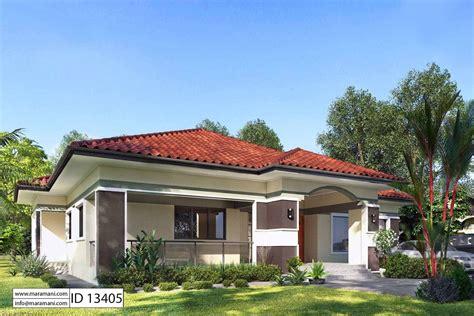 3 Bedrooms Floor Plan ID 13405 House Designs by Maramani