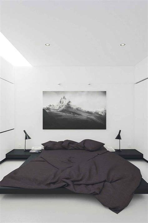 modern black and white bedroom best 25 minimalist interior ideas on 19240 | 8109e0444fa2fa7a0010cca2a9ae805a black bedrooms modern bedrooms
