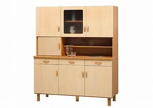 Buffet 150 Cm : acheter votre buffet de cuisine 7 portes 3 tiroirs en 120 ou 150 cm chez simeuble ~ Indierocktalk.com Haus und Dekorationen