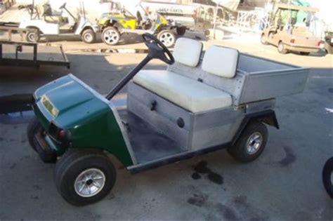 Club Car Dump Box by Club Car Carryall Gas Golf Cart Utility Dump Bed 11hp
