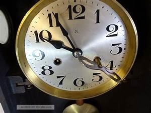 Wanduhr Mit Bildern : antike wanduhr regulator pendeluhr mit bassgong holzgeh use inkl schl ssel ~ Watch28wear.com Haus und Dekorationen