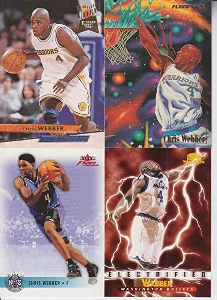 Check spelling or type a new query. Chris Webber Rookie 4 Card Lot at Amazon's Sports Collectibles Store