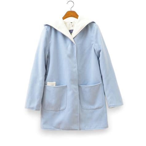 light blue coat womens light blue coat for on luulla