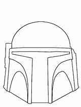 Star Helmet Fett Boba Coloring Wars Template Pages Drawing Stencil Templates Mandalorian Printable Clipart Mask Draw Build Clip Print Drawings sketch template