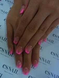 1000 ideas about Hot Pink Nails on Pinterest