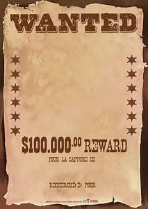 Affiche Wanted Viergepng Projets à essayer Pinterest