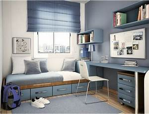 comment amenager une chambre d39ado garcon 55 astuces en With chambre ado bleu gris