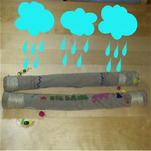 Fabrica un palo de lluvia con tubos de cartón Experimentos para niños y actividades educativas