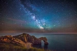 Milky Way above Durdle Door – DorsetScouser Photography