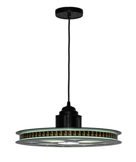 35mm reel hanging pendant light fixture home theater