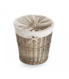 Panier À Linge En Osier : panier linge en osier int rieur en tissu amovible ~ Melissatoandfro.com Idées de Décoration