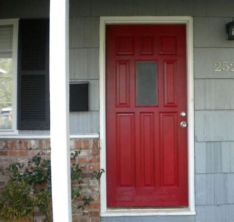 gorgeous front door colors the wooden houses