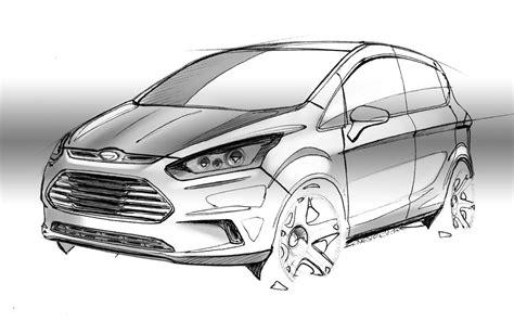 Ford B-max Design Sketch
