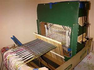 Wow  Instructions On How To Build A Loom With Cardboard