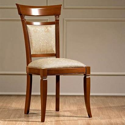 Chair Dining Wood Cherry Furniture Treviso Ornate