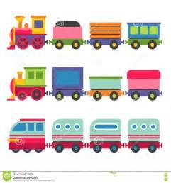 Toy Railroad Train Set