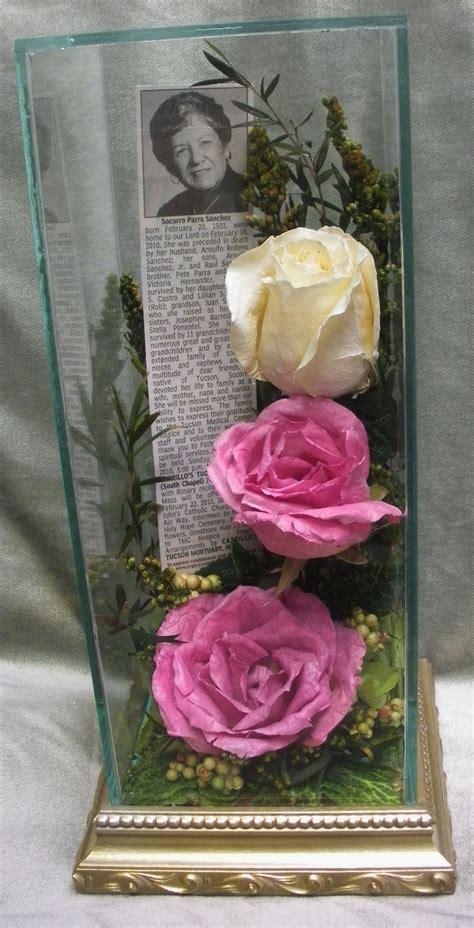 pin  floral keepsakes  funeral  memorial flowers