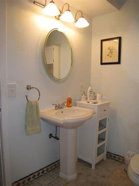sink bathroom decorating ideas pedestal sink bathroom design ideas myfavoriteheadache