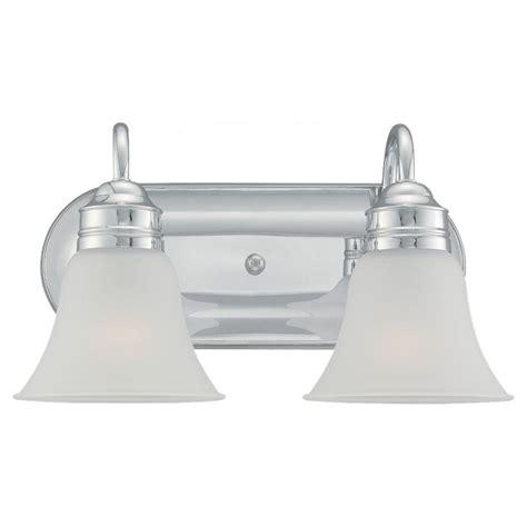 progress lighting lahara collection 2 light chrome vanity