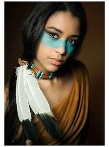 Peinture Visage Femme : mod le peinture visage femme d 39 inspiration am rindienne laissez vous inspirer ~ Melissatoandfro.com Idées de Décoration