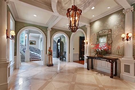 elegant foyer ideas entry traditional with luxury homes