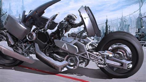 Dsngs Sci Fi Megaverse Futuristic Motorcycles