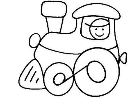 Fahrzeuge>> Zug >> Ausmalbild Zug