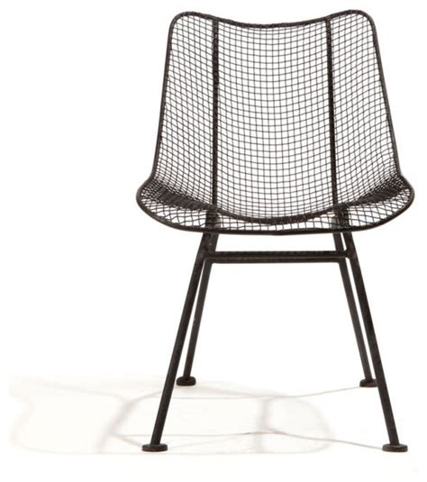 wire mesh dining chairs by woodard at 1stdibs