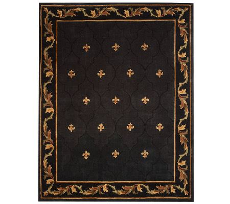 royal palace rugs royal palace special edition fleur de lis 7 x 9 wool rug