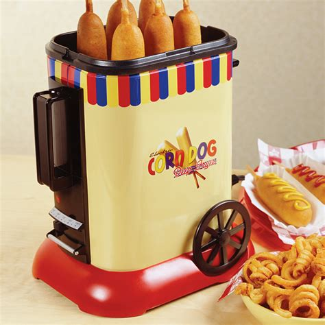corn dog fryer deep fashioned maker head unicun xl