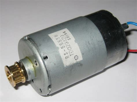 18v Electric Motor by Mabuchi Rs 555sh Motor With Pulley 18v 3700 Rpm