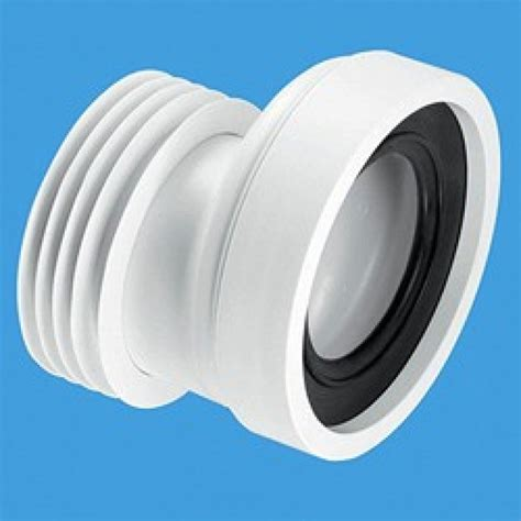 offset pan connector white davies