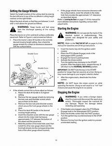 Page 13 Of Cub Cadet Lawn Mower Lt1042 User Guide