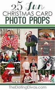 25 Fun Christmas Card Props such cute ideas