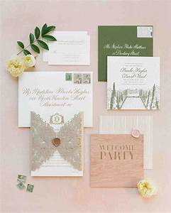 The freshest spring wedding invitations martha stewart for Wedding invitation kits martha stewart
