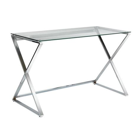 buy hygena cortez glass desk at argos co uk your