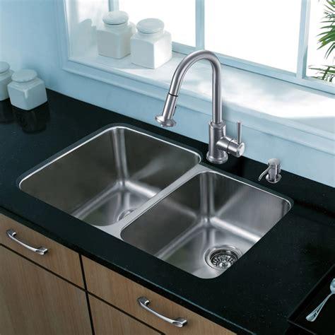 9 inch kitchen sinks vigo industries vg3221lk1 32 inch undermount bowl 7386