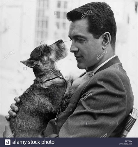 Rock Hudson Images Rock Hudson With Actor 1965 Stock Photo Royalty Free