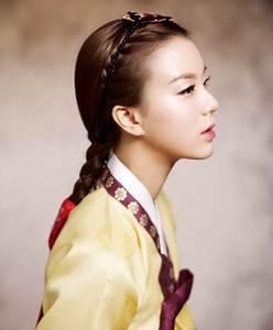 Cute traditional braid for Asian women | asian women ...