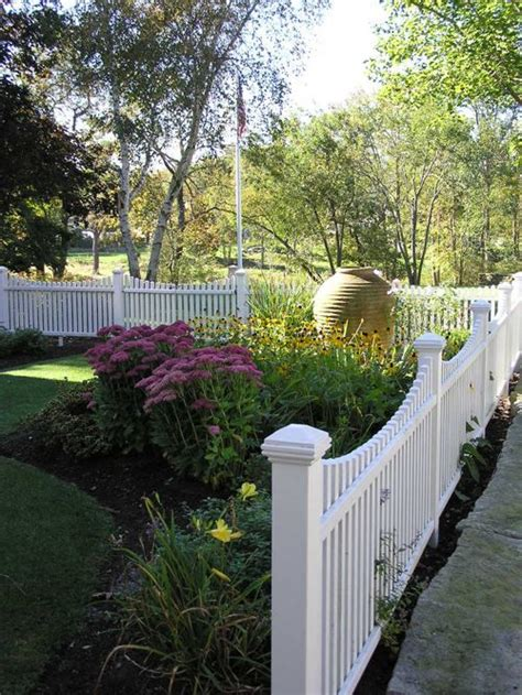 fencing front yard fence design ideas remodels photos