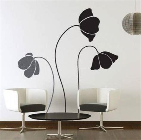 Wandtattoo Blumen Kreative Wandgestaltung by Wandtattoo Blumen Kreative Wandgestaltung Freshouse