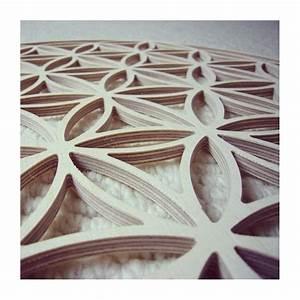 Fleur En Bois : fleur de vie en bois 39 cm energies de vie ~ Dallasstarsshop.com Idées de Décoration