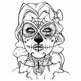 Para Pages Imagens Caveiras Colorir Coloring Skull Imagenspng Br Mexicanas Caveira Mexicana Larger Credit Printable sketch template