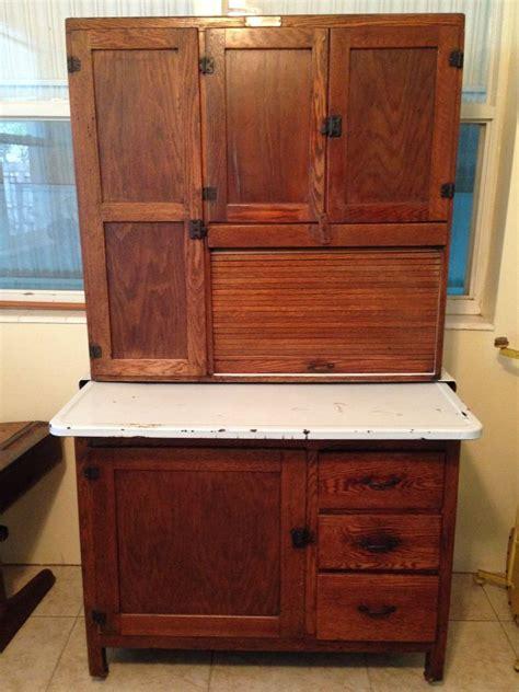 antique oak kitchen cabinet antique hoosier cabinet kitchen cupboard vintage oak ebay 4119