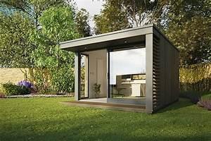 Gartenhaus Modern Kubus : gartenhaus modern grau fg06 hitoiro ~ Whattoseeinmadrid.com Haus und Dekorationen